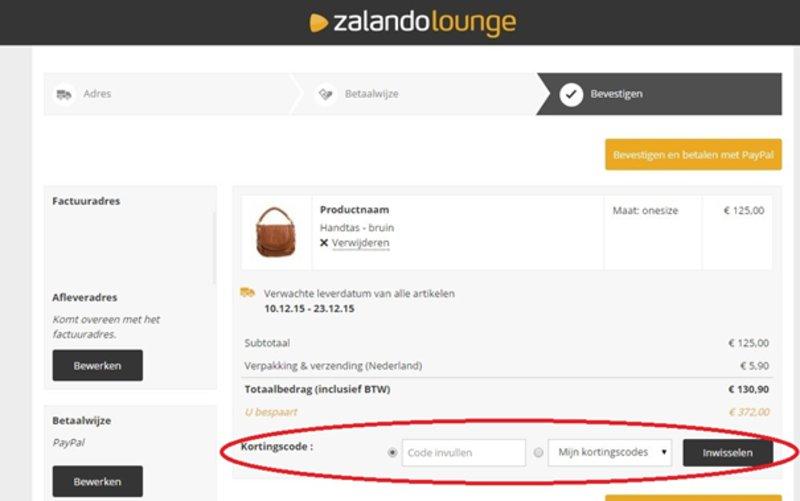 Zalando Lounge kortingscode juli | Code 25% OFF + GRATIS
