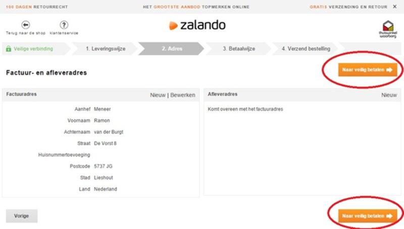 zalando factuur Zalando Factuur | gantinova