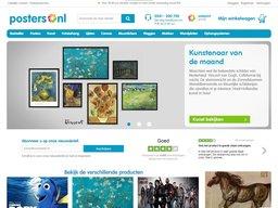 Posters.nl schermafdruk