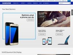 Samsung schermafdruk