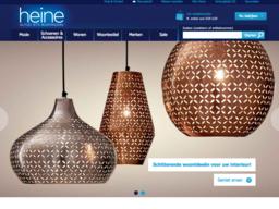 Heine-Shop schermafdruk