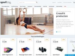 Sportbay schermafdruk