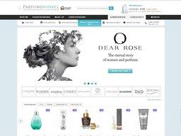 Parfumswinkel schermafdruk