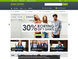 Jeans centre schermafdruk