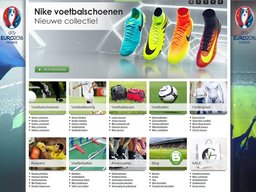 Voetbal-geest schermafdruk