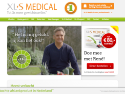 XLS-medical schermafdruk