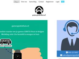 GamesGratisThuis  schermafdruk