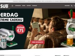 Heineken schermafdruk