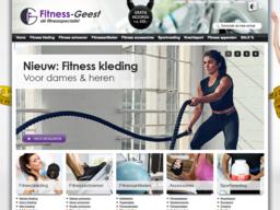 Fitness-Geest schermafdruk