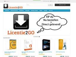 Licentie2Go schermafdruk