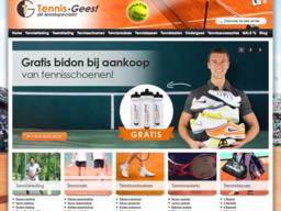 Tennis-Geest schermafdruk