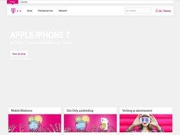 T-Mobile schermafdruk