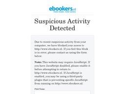 Ebookers schermafdruk