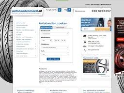 Autobandenmarkt schermafdruk