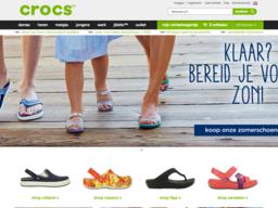Crocs schermafdruk