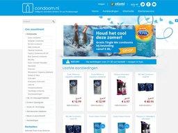 Condoom.nl schermafdruk