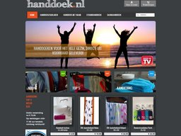 Handdoek.nl schermafdruk