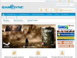GameSync schermafdruk