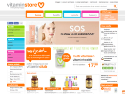 Vitaminstore schermafdruk