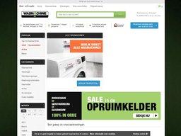 Wasmachine.nl schermafdruk