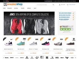 Sneakershop schermafdruk