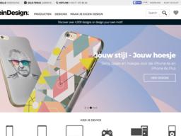 Designskins schermafdruk